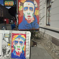#sbsexploring #Mural#sbsexploring Mural in Oslo!