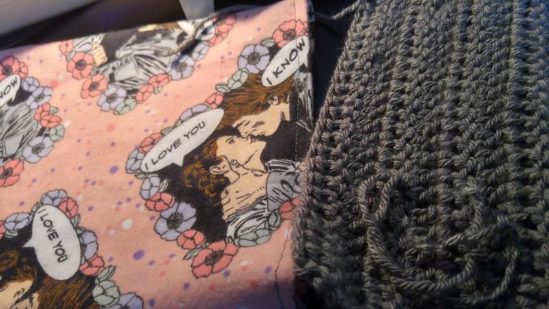 Star Wars Fabric Crochet Scarf 1