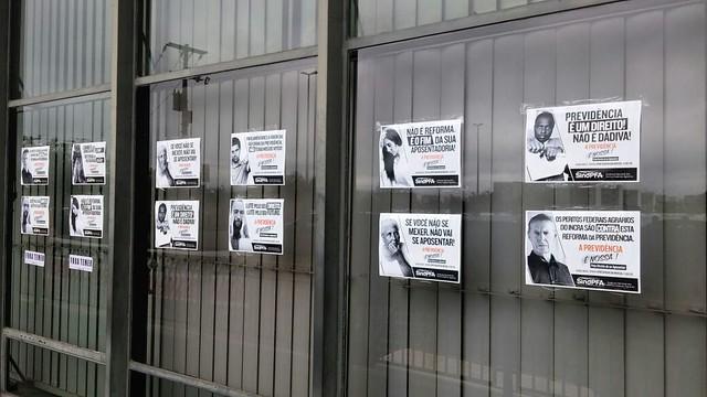 Campanha contra a Reforma da Previdência 2017