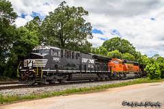 NS 3650 | GE ET44AC | NS Memphis District