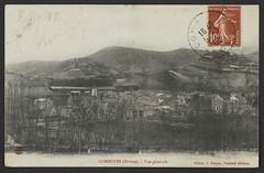Combovin (Drôme). - Vue générale