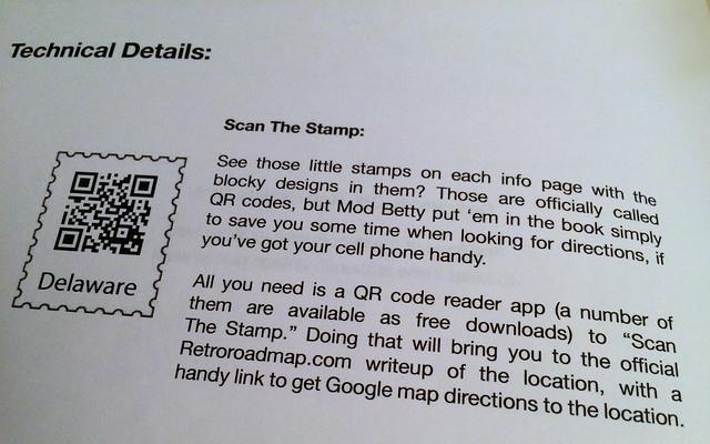 Retro Roadmap Roadbook - Delaware - Scan The Stamp