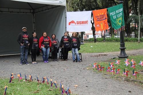 Galeria fotos acampamento da resistência