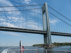 Verrazano-Narrows Bridge over The Narrows, Brooklyn-Staten Island, New York City