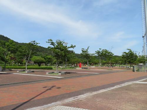 釜山慶南競馬場の公園