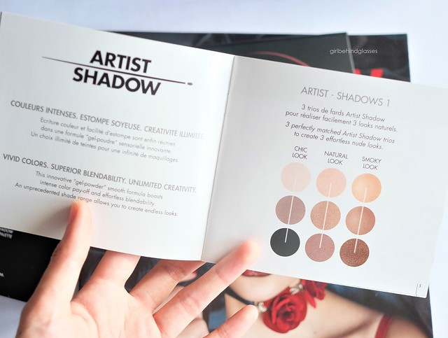 Make Up For Ever Artist Shadows Palette #1 4