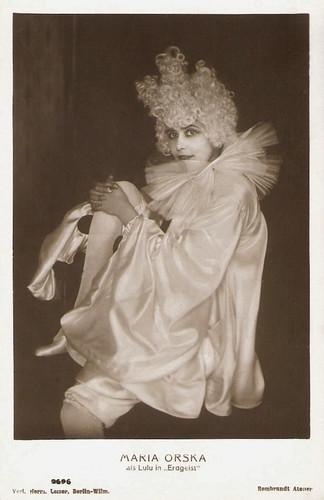 Maria Orska in Erdgeist (1916)