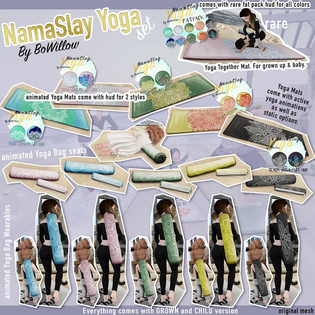 NamaSlay Yoga Gacha Key - SecondLifeHub.com