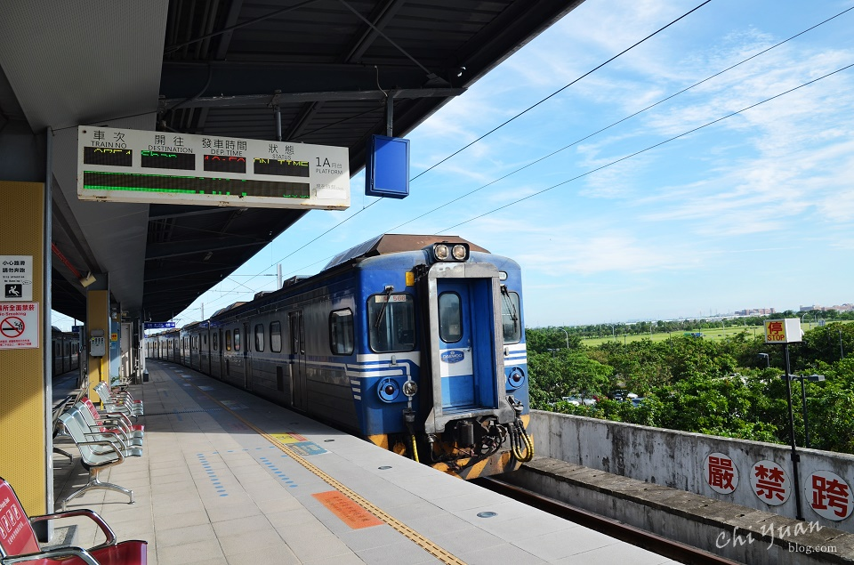 [台南]歸仁沙崙火車站。如何從高鐵到台南市中心(台南火車站),25分鐘25元的交通選擇
