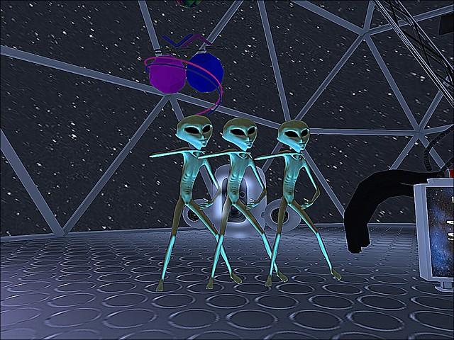 Club Planetary - Sharpened Alien Shuffle