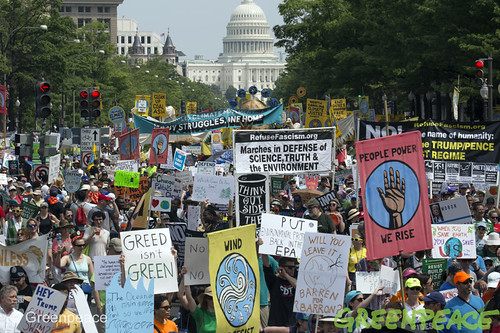 People's Climate March DC