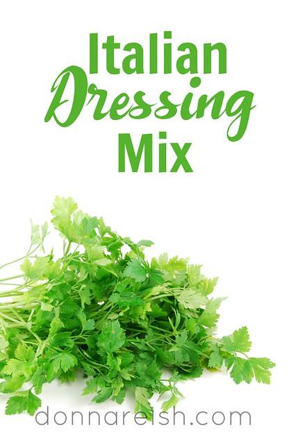 Italian Dressing Mix