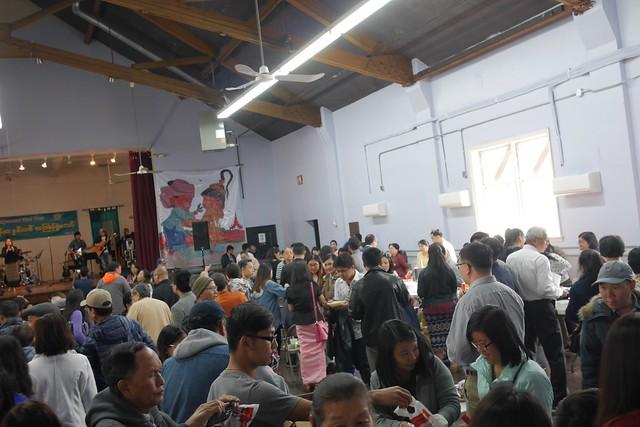 日, 2017-04-23 11:09 - ミャンマーフェス Thingyan festival at St. James Episcopal Church