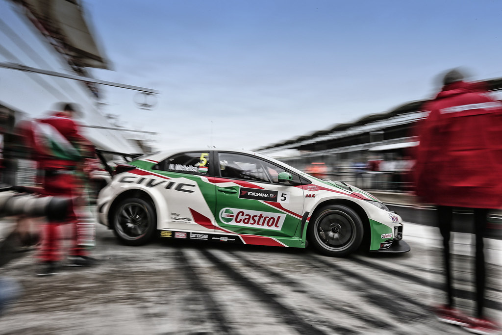 05 MICHELISZ Norbert (hun), Honda Civic team Castrol Honda WTC, action during the 2017 FIA WTCC World Touring Car Race of Hungary at hungaroring, Budapest from may 12 to 14 - Photo Jean Michel Le Meur / DPPI