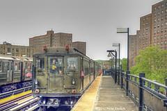 NEW YORK SUBWAYS--5292 (r, OB), 2453 at 225th Street
