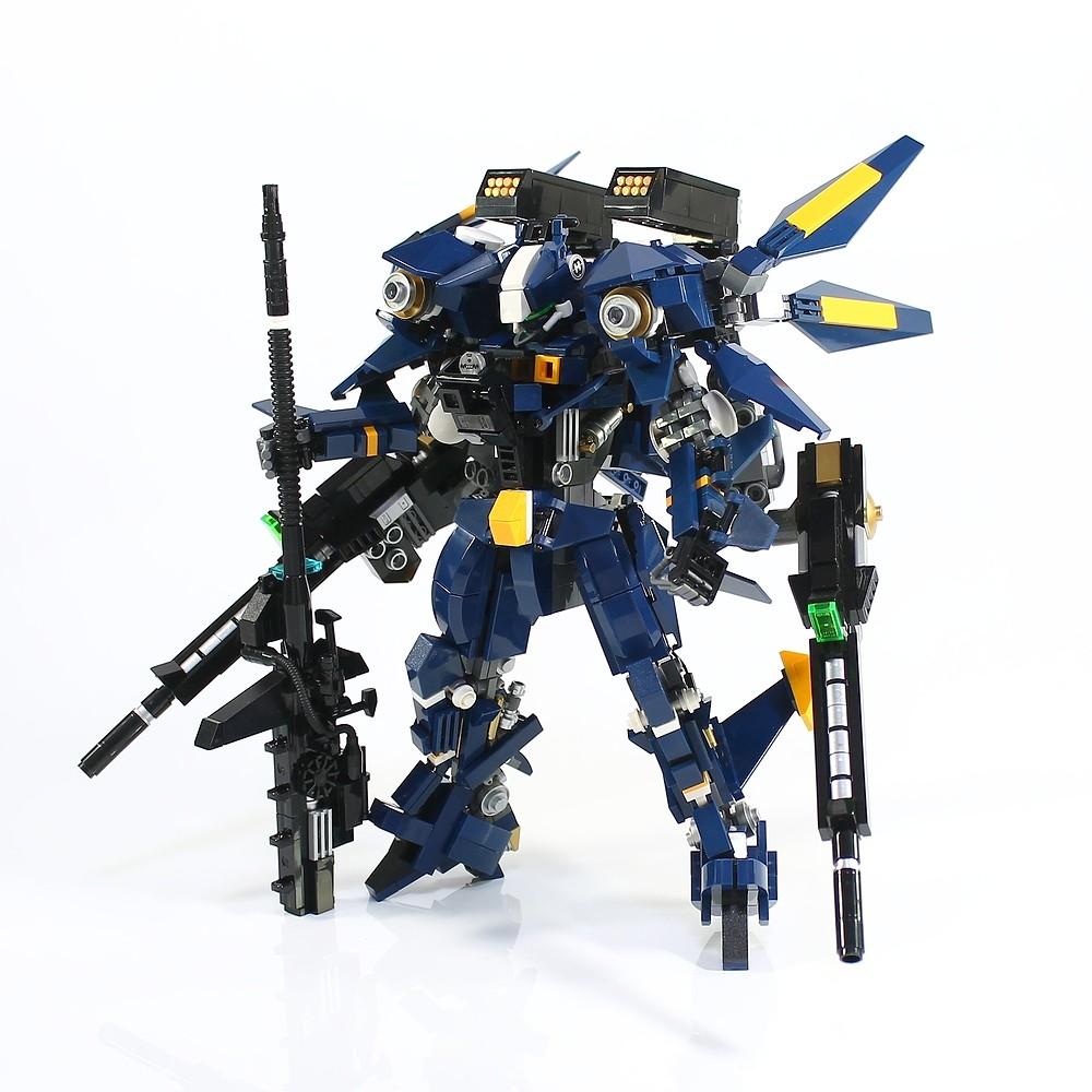 MF-05 Navy falcon (custom built Lego model)