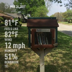 Little Free Library #18050 visit