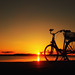 Bike at the beach by Ostseeleuchte