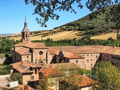 Monasterios en San Millan de la Cogolla ( La Rioja ).