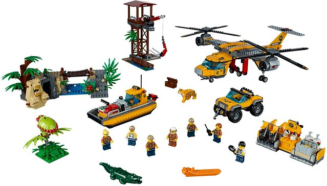 60162 Jungle Air Drop Helicopter 3