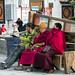 A corner in Barker Street, Lhasa