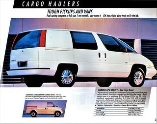 1991 Chevrolet Lumina APV Utility
