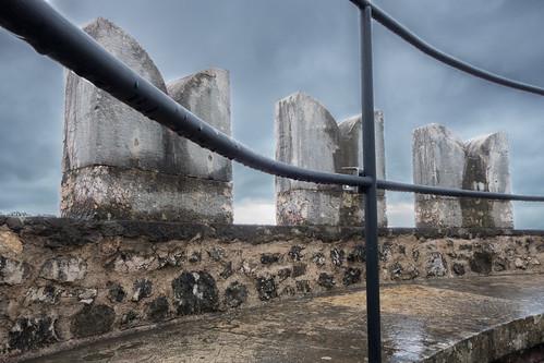 trsatskikastel railing croatia rijeka turret trsatcastle
