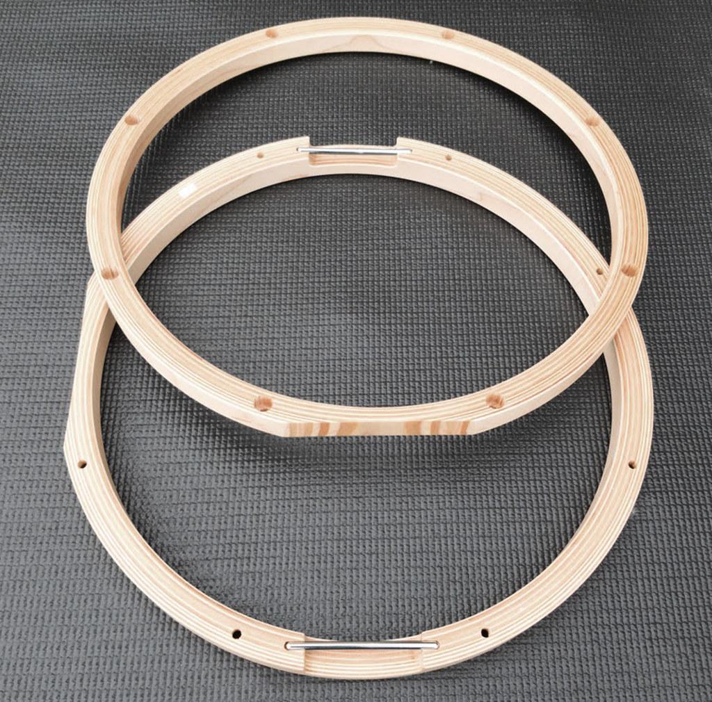 yamaha 14 maple 19 ply snare drum wood hoop set vh1408s ebay. Black Bedroom Furniture Sets. Home Design Ideas
