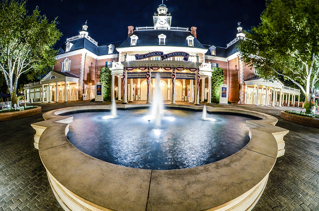 American Adventure night Epcot