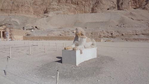 Sphinx Statue - Temple of Hatshepsut