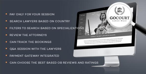 GOCOURT - Online Lawyer Booking Solutions