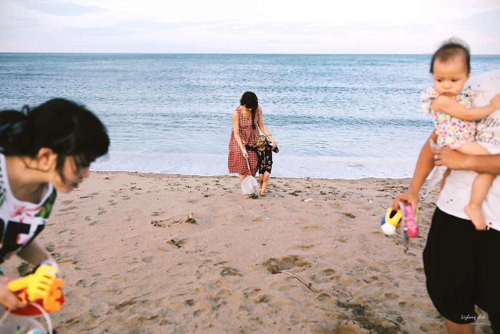 八月的親子北海岸微紀錄