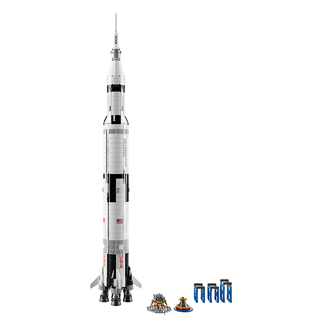 21309 NASA Apollo Saturn V 3
