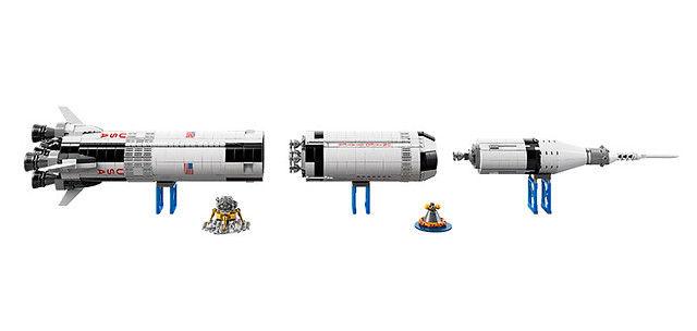 21309 NASA Apollo Saturn V 4