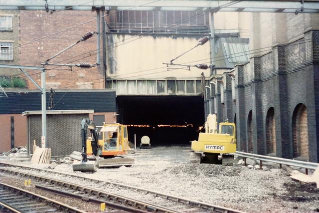 19860705 020 Farringdon. Snow Hill Tunnel, Direction Snow Hill