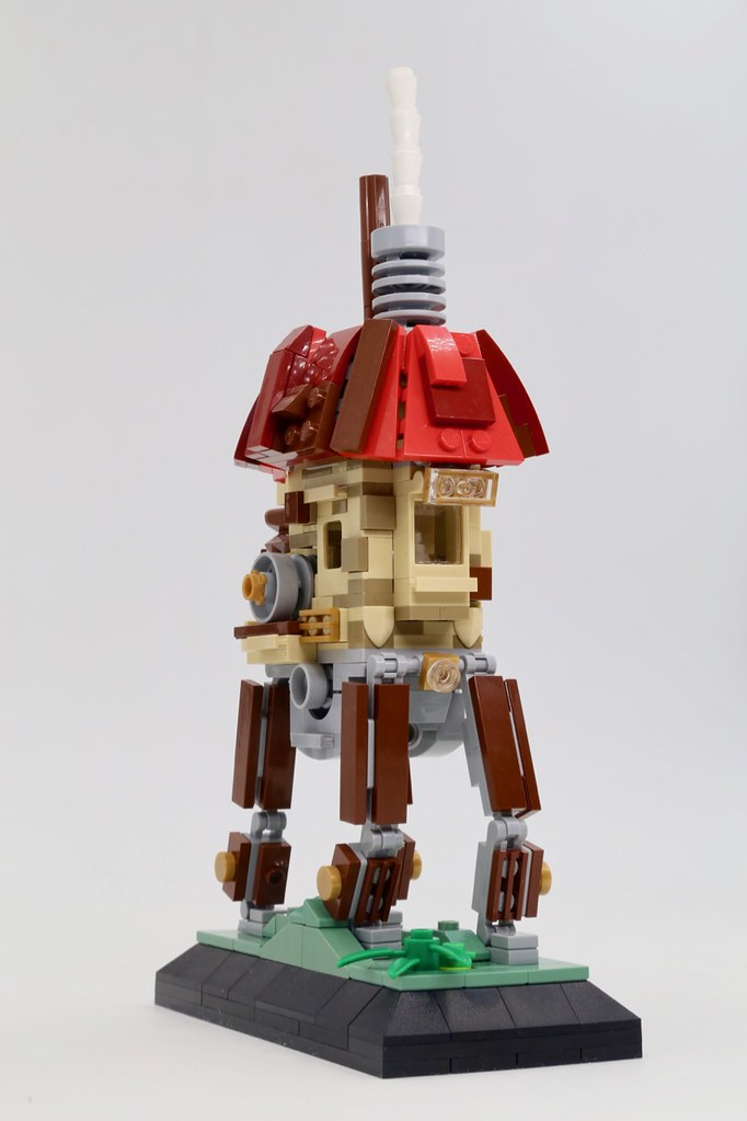 Steampunk Walking House (custom built Lego model)