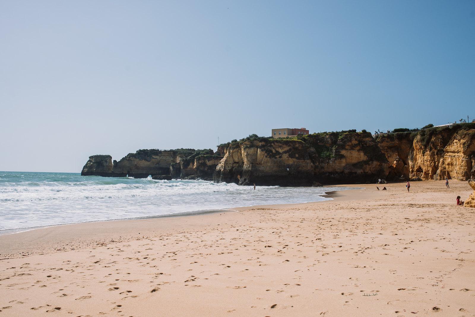 Praia da Batata strand Lagos belvárosa mellett