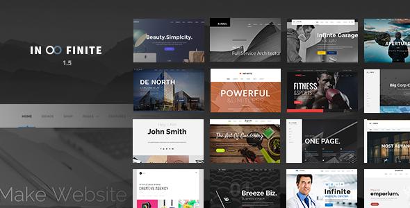 Infinite v1.5.6 - Responsive Multi-Purpose WordPress Theme