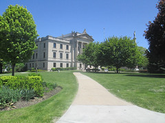 Courthouse of DeKalb County IL