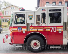FDNY Engine 70 Fire Truck, City Island, New York City