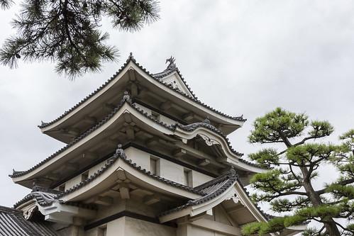 日本四國-高松城