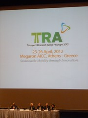 ECTRI @ TRA 2012, Athens