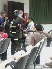 Bomberos chonenses se capacitaron en rescate vehicular