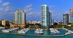 Miami Beach Marina Panorama.Nikon D3100. DSC_0190-0195.