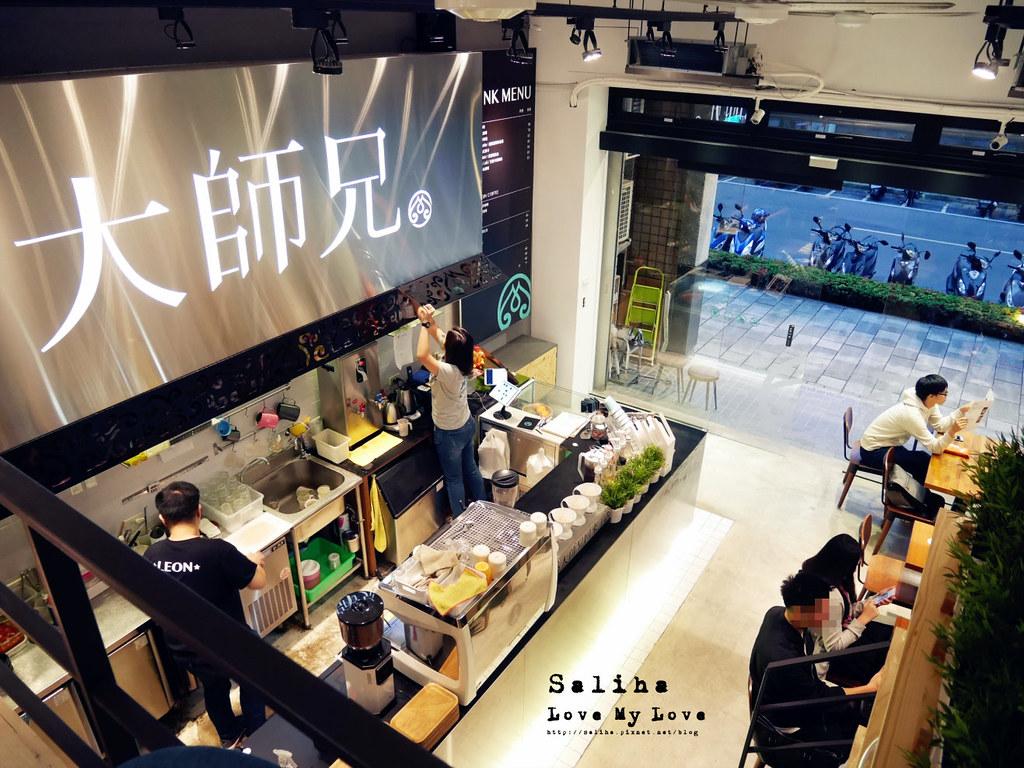 台北松山南京三民站附近餐廳推薦大師兄咖啡早午餐好吃麵 (5)