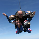 Tandem Skydiver Anna - Peace, Love & Skydiving