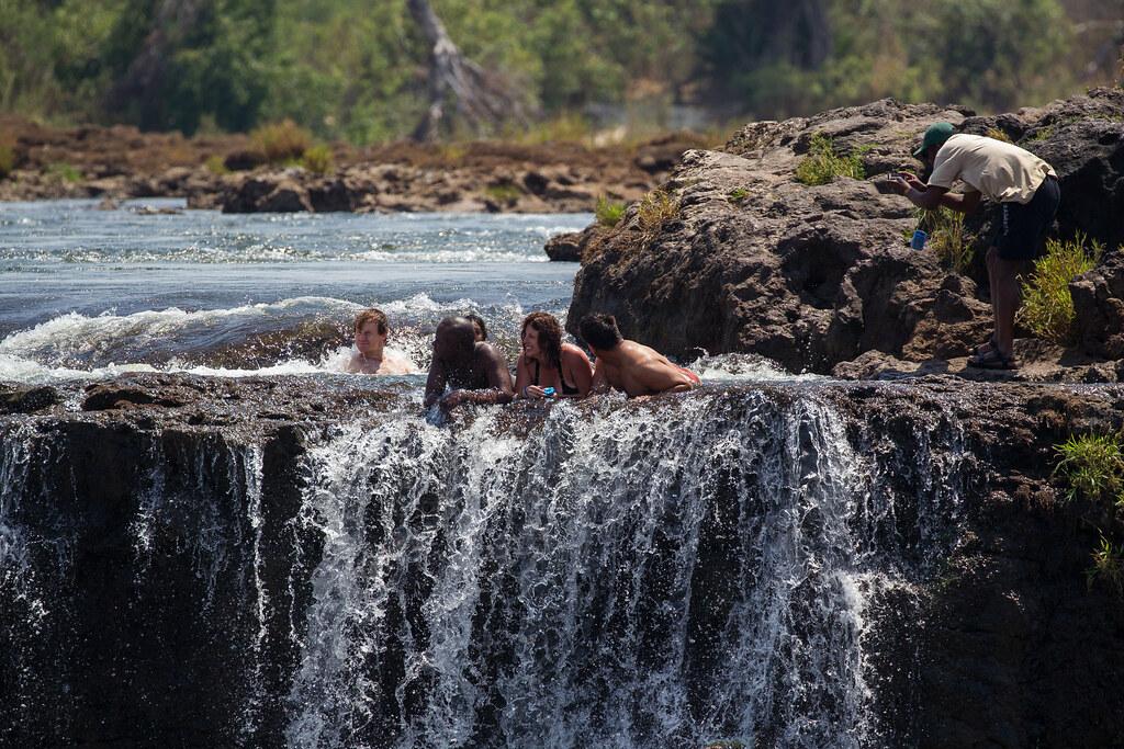 Victoria Falls - Devils pool