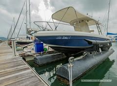 Yachts at Haven Marina, Phuket island, Thailand