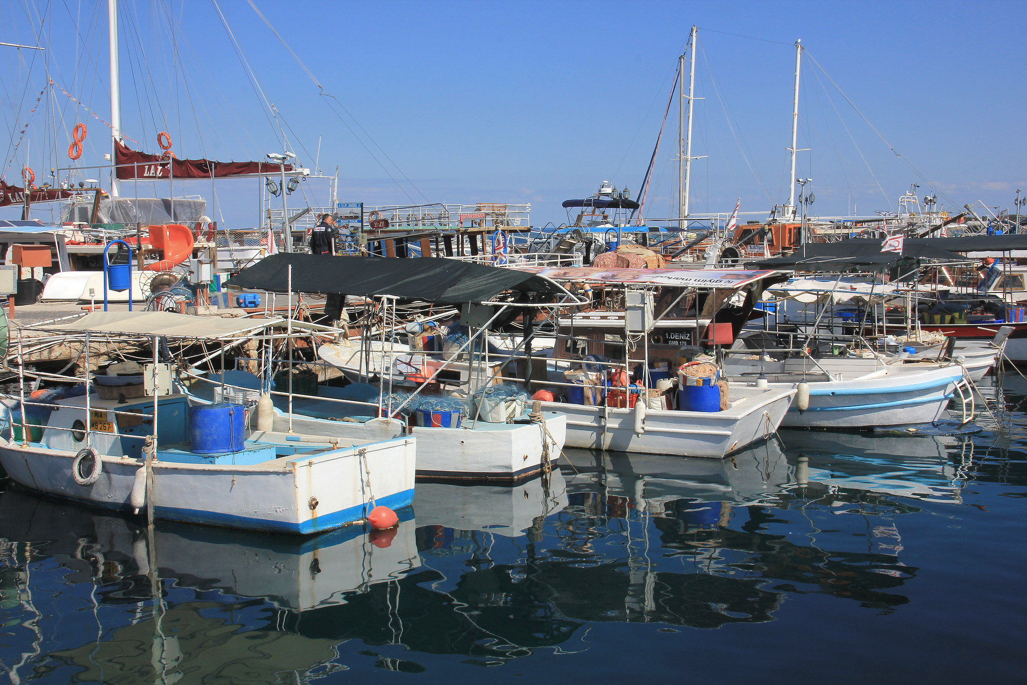 Kyrenia harbour is one of the prettiest places in Northern Cyprus