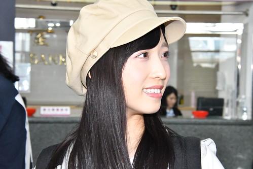 2017.04.30 AKB48 Team8 Fansmeeting in Taiwan 桃園縣機場 抵台